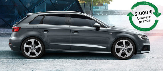 Der Audi A3 Sportback bei Tiemeyer zu günstigen Konditionen leasen
