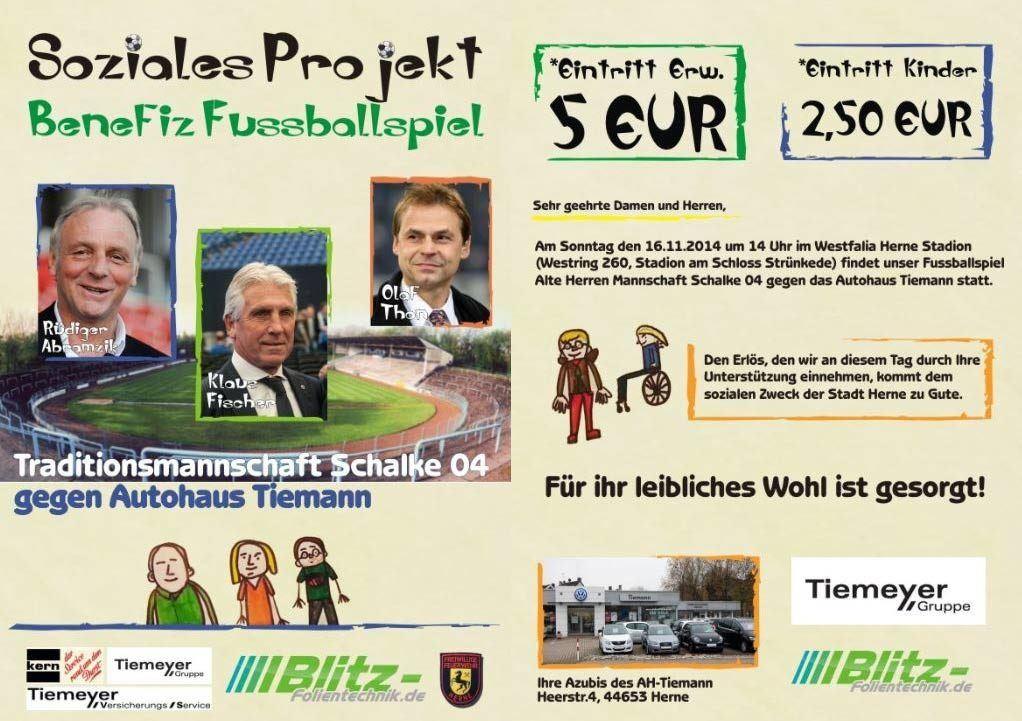 Benefiz Fußball Schalke 04