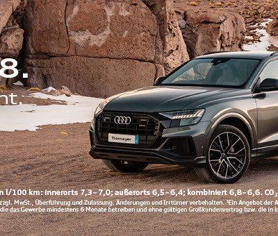 Der Neue Audi Q8 Tiemeyer Gruppe
