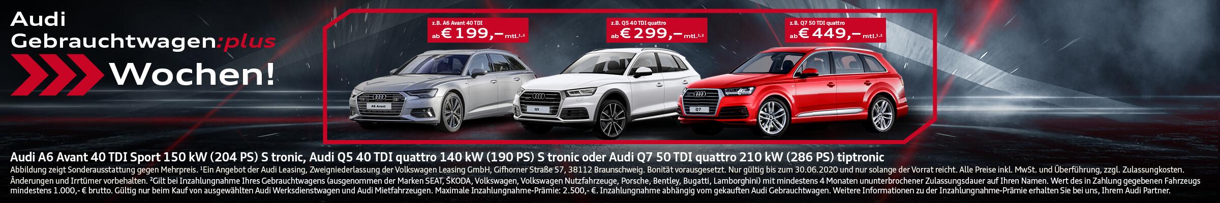 Audi Gebrauchtwagen Wochen
